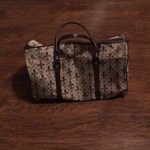 Fleur-de-lis bag new without tags